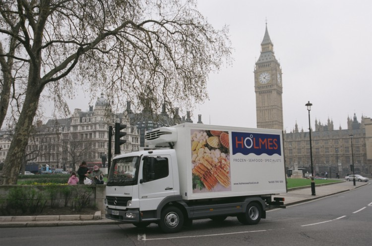 Multi-drop deliveries in London